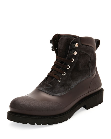 Forest All-Weather Hiking Boot, Gray/Brown