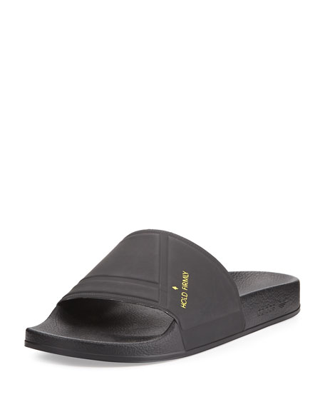 The Adilette Bunny Sandal Slide, Black