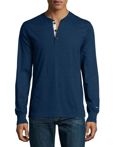 Standard Issue Long-Sleeve Henley Shirt