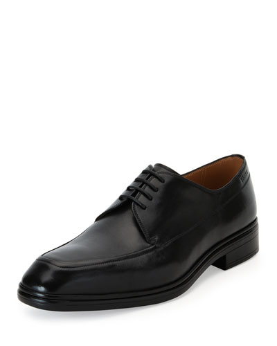 Neill Calf Leather Lace-Up Shoe, Black