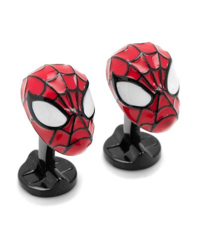 3D Spiderman Cuff Links