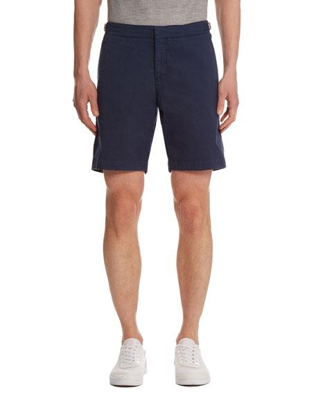 Dane Twill Shorts, Navy
