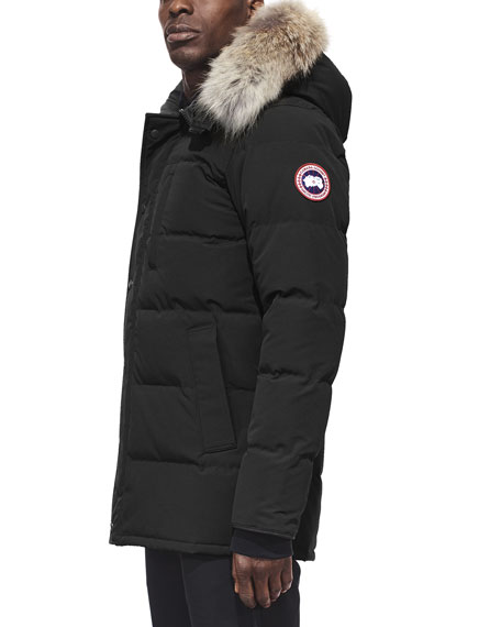 Carson Down Parka with Fur-Trim Hood