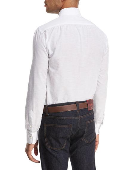 Cotton-Linen Sport Shirt