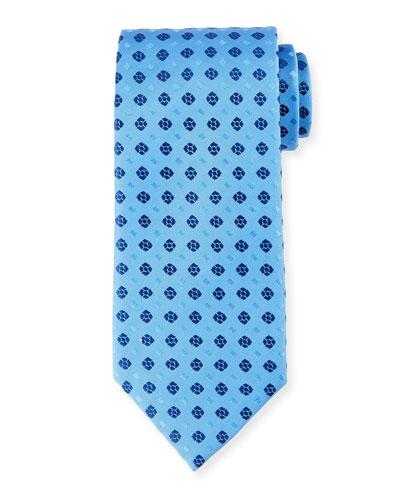 Neat Squares Silk Tie