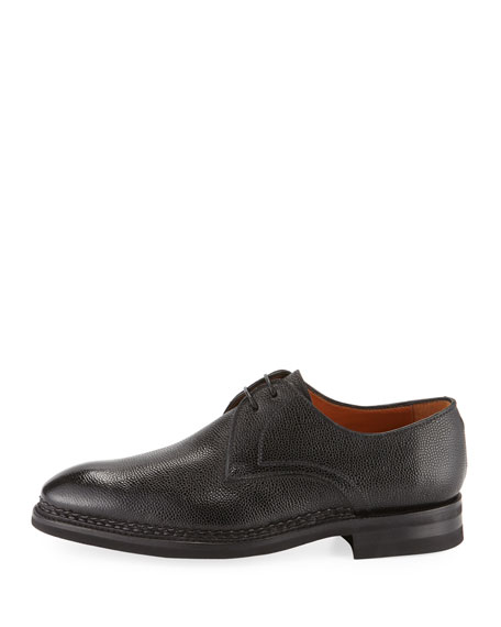 Carnera Pebbled Leather Oxford