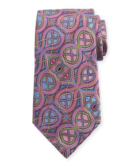 Ermenegildo Zegna Quindici Infinity Silk Tie