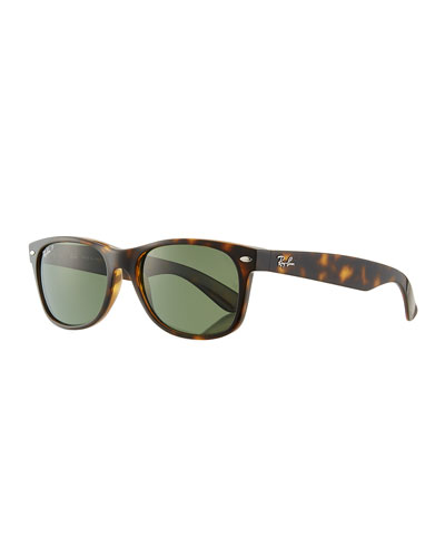 Men's New Wayfarer 55mm Polarized Classic Sunglasses