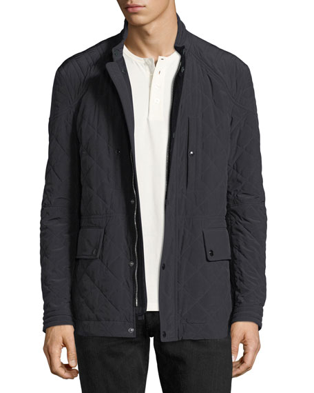 TOM FORD Diamond-Quilted Field Jacket