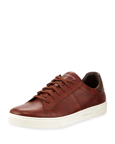 Men's Vulcanized Flex Vittorio Leather Sneakers