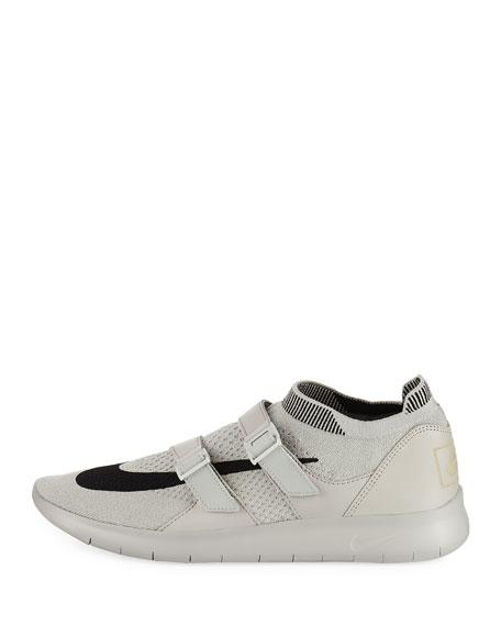 Air Sockracer Sneaker, Gray/Black