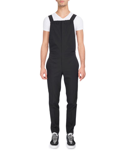 Virgin Wool-Polyester Overalls
