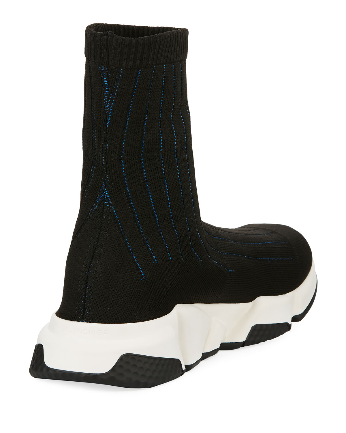 Balenciaga Speed Ribbed Low Trainer