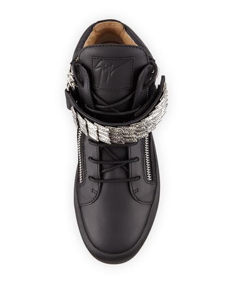 b9d0c4cc68203 Giuseppe Zanotti Men's Signature Leather Logo Belt and Matching Items