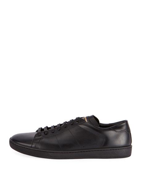 SL/01 Men's Leather Low-Top Sneaker