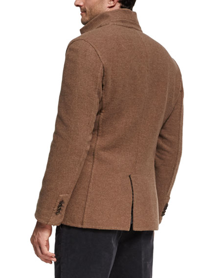 Reversible Cashmere Overcoat