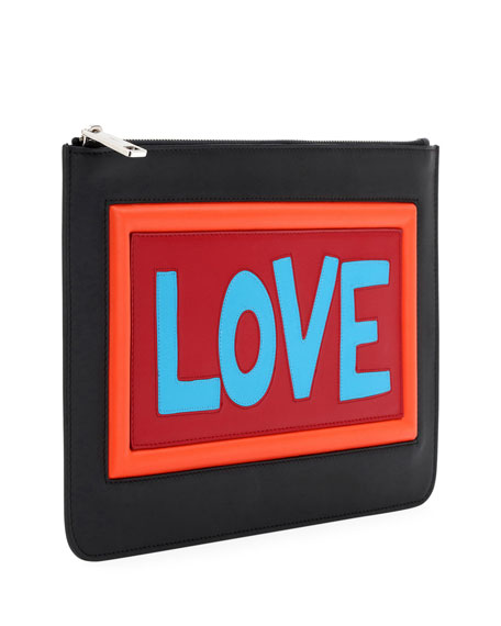 Love Vocabulary Leather Pouch