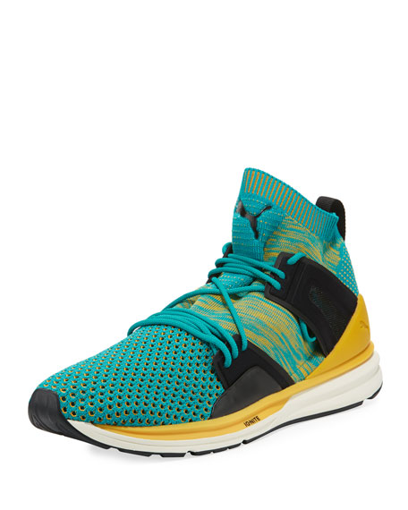 Puma Men's B.O.G. Limitless Hi Knit Sneaker