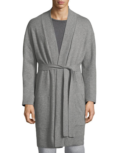 RV KNIT CASHMERE ROBE