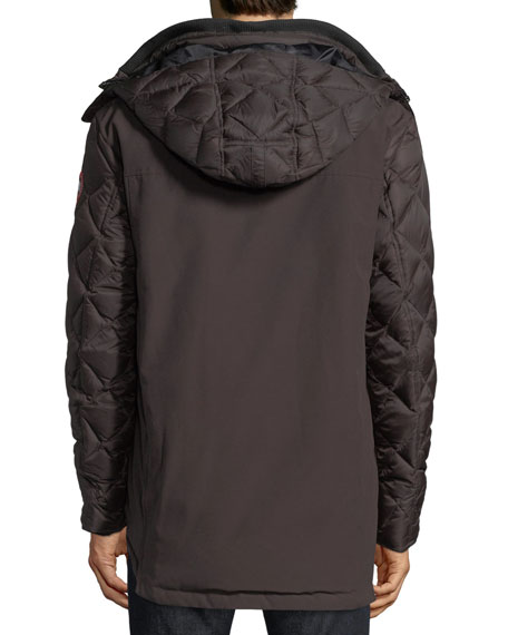 Hendriksen Diamond-Quilted Coat