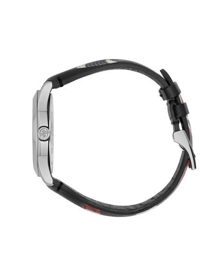 38mm Le Marché Des Merveilles Snake Watch w/ Leather Strap
