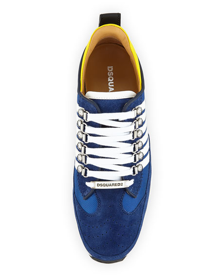Men's 251 Suede-Trim Sneakers