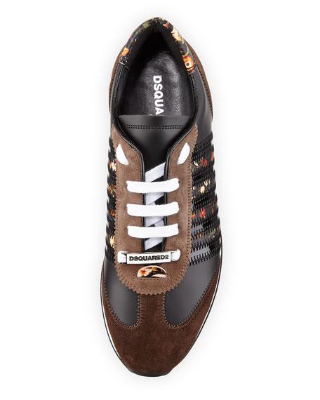 New Runner Suede Hiking Sneaker