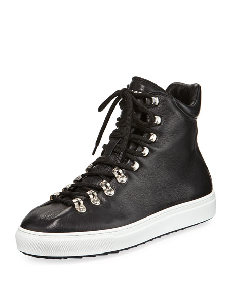 Men's Whistler High-Top Leather Sneakers
