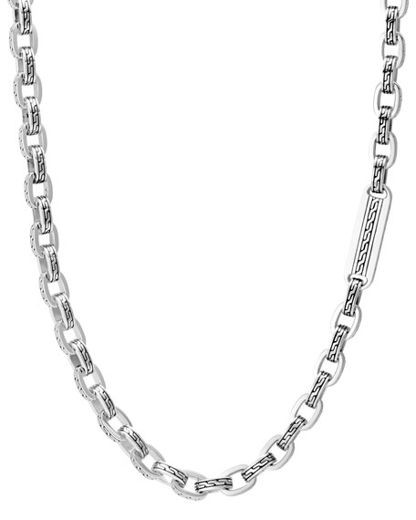 John Hardy Men's Classic Chain Link Sterling Silver