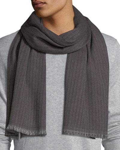 Sciarpa Ribbed Wool Scarf