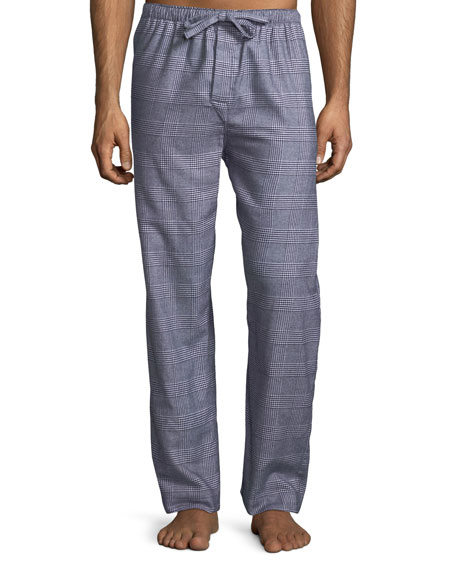 Ranga 29 Plaid Cotton Lounge Pants
