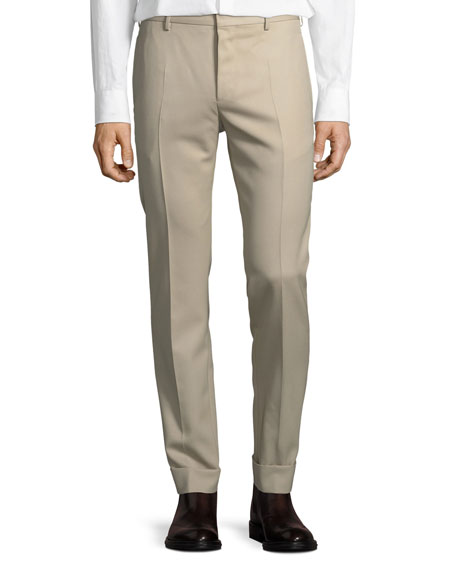 Casual Wool Pants