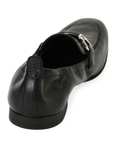 Men's Celso Elastic-Back Gancini Slip-On Loafer