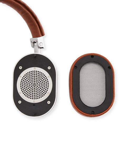 MW 60 Pelle Tessuta Aluminum Wireless Headphones and Stand