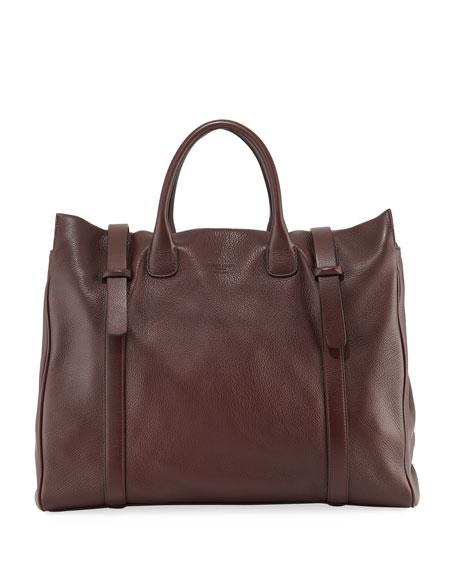 Men's Deerskin Runway Tote Bag