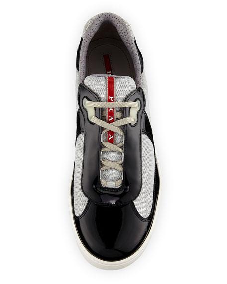 Vernice Low-Top Bike Sneaker