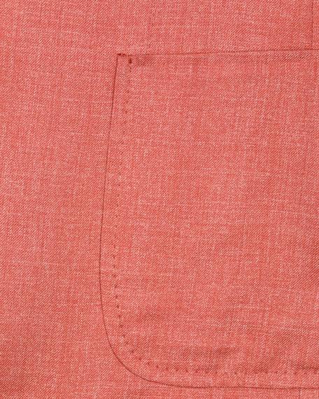 Heathered Silk Blazer