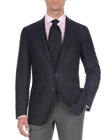 Solid Cashmere-Blend Sport Coat