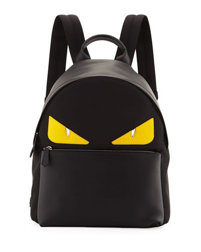 Monster Eye Nylon Backpack
