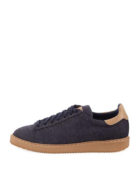 Denim Low-Top Sneaker