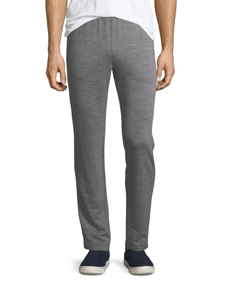 Heathered Wool Jogger Pants
