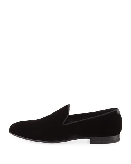 Velvet Slip-On Loafer