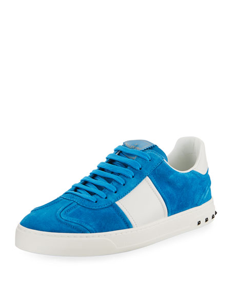 Men's Fly Crew Suede Low-Top Sneakers