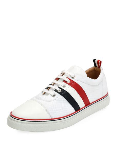 Cap-Toe Low-Top Training Sneaker
