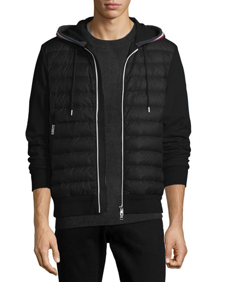 Moncler Maglia Quilted Cardigan Hoodie c95fe0631dd