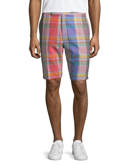 Madras Check Classic Backstrap Shorts