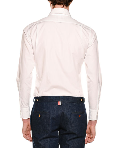 Long-Sleeve Funmix Striped Shirt