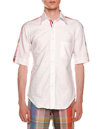Bicolor Short-Sleeve Shirt
