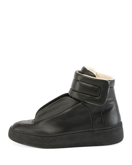 Future Leather Redux High-Top Sneaker, Black
