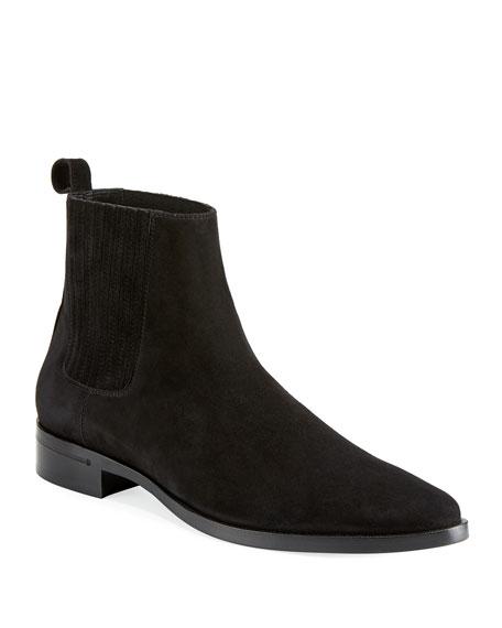 ec7f51a1c96 Men's Peck Chelsea Boot Black